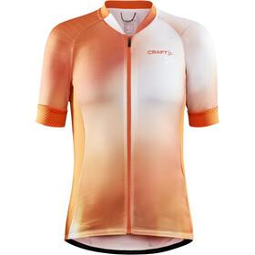 Craft ADV Endur Graphic Jersey Women, pomarańczowy/biały